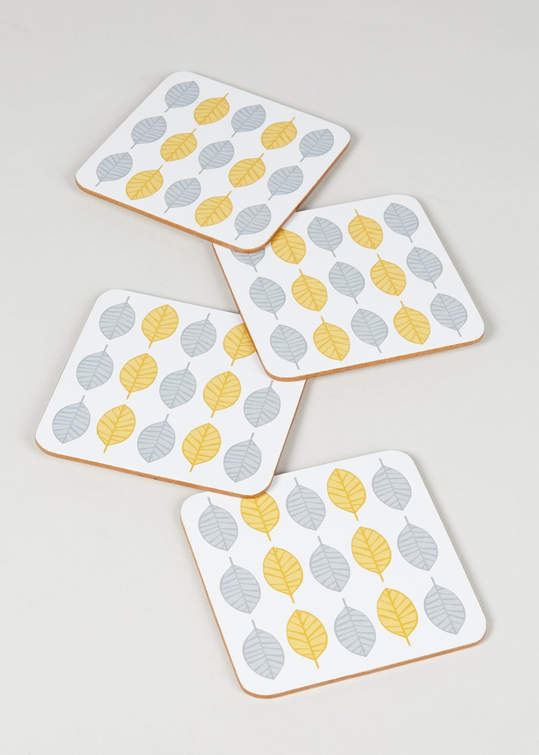 Scandi 4 Pack Coasters (10cm x 10cm)