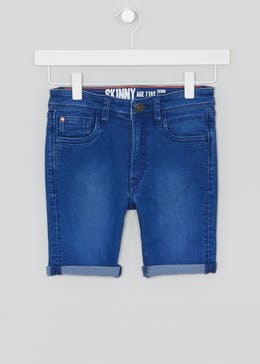 Kids Skinny Denim Shorts (4-16yrs)