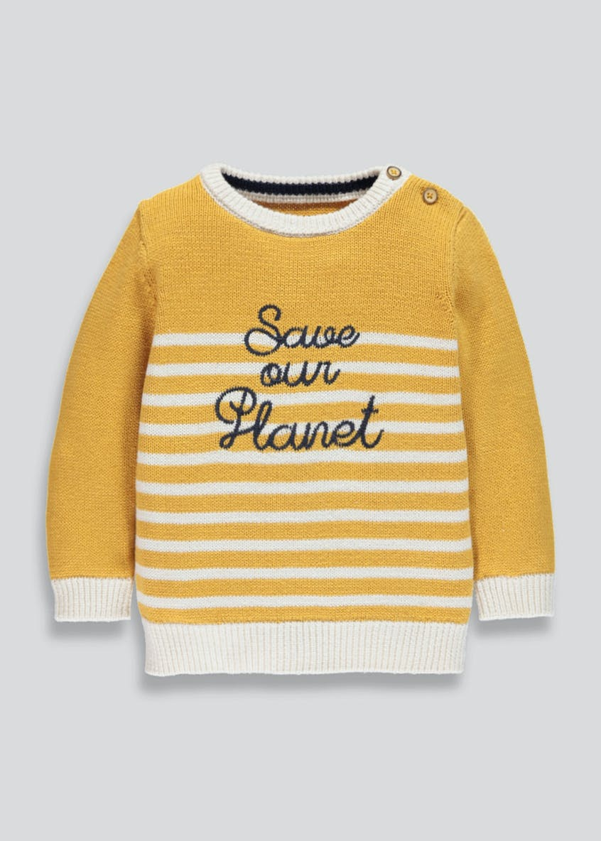 Kids Save our Planet Jumper (9mths-6yrs)