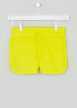Girls Candy Couture Towelling Shorts (9-16yrs)