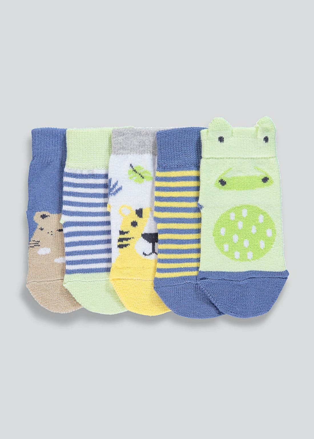Unisex Safari Ankle Socks (Newborn-8.5)