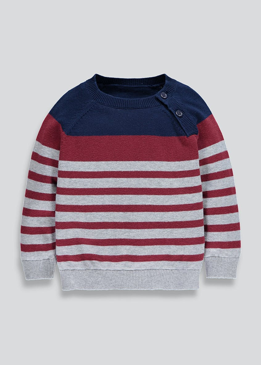 Kids Stripe Jumper (9mths-6yrs)