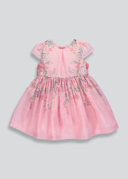 Mini Me Girls Floral Occasion Dress (9mths-6yrs)