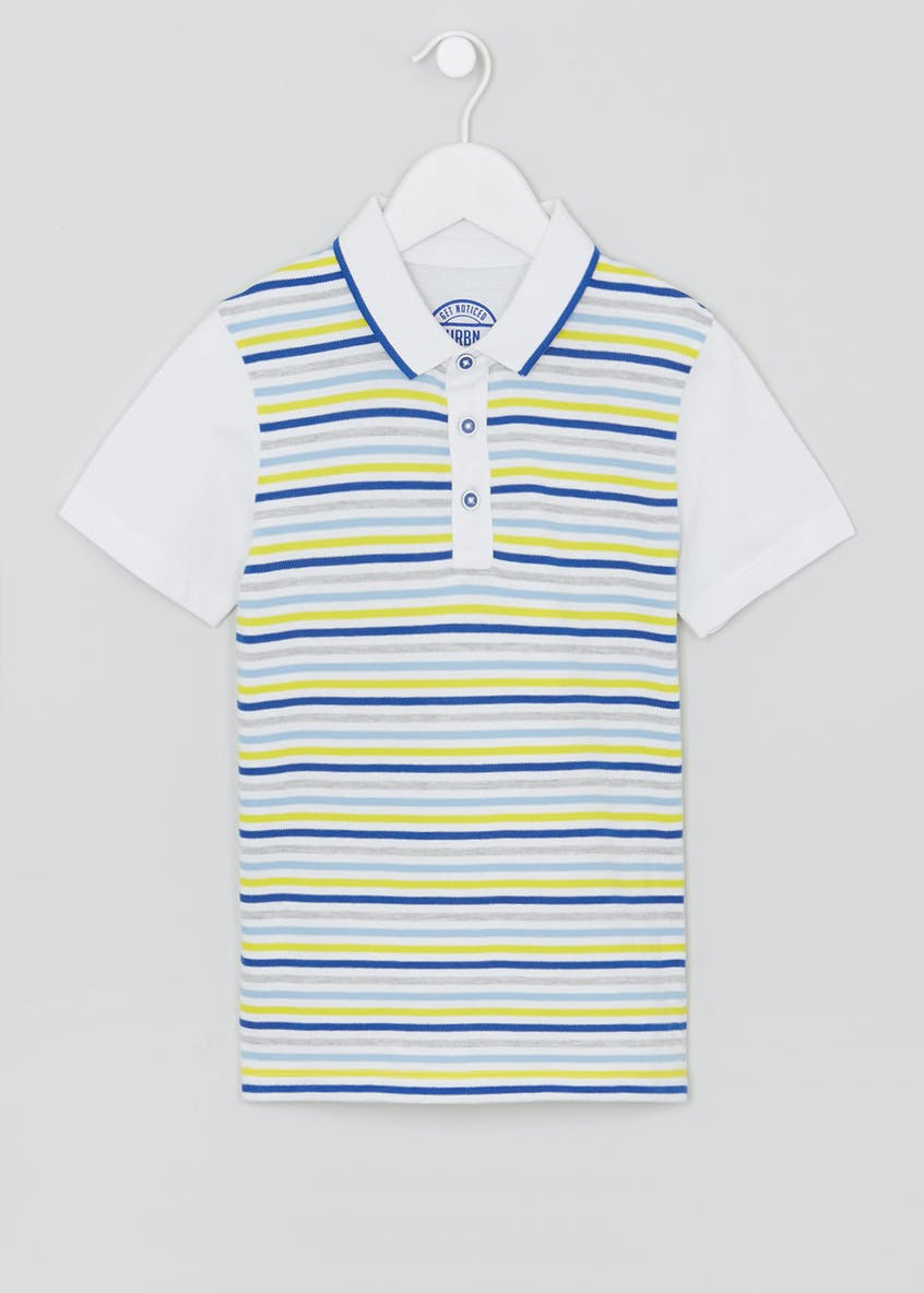 Boys Stripe Polo Shirt (4-13yrs)