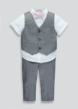 Boys 4 Piece Set (9mths-6yrs)