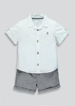 Boys Shirt & Shorts Set (9mths-6yrs)