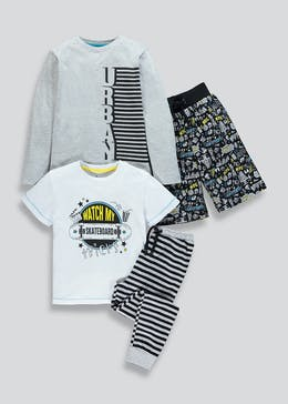 Kids Skateboard Pyjamas (4-13yrs)