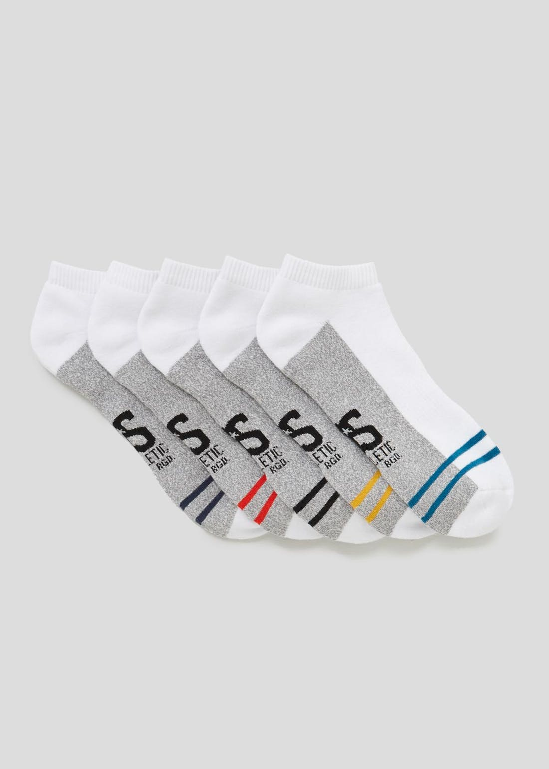 5 Pack US Athletic Trainer Socks