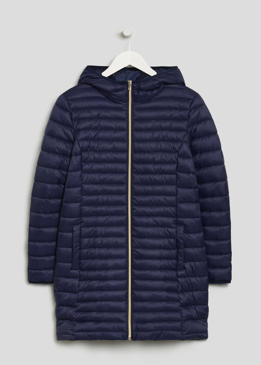 Long Lightweight Padded Coat