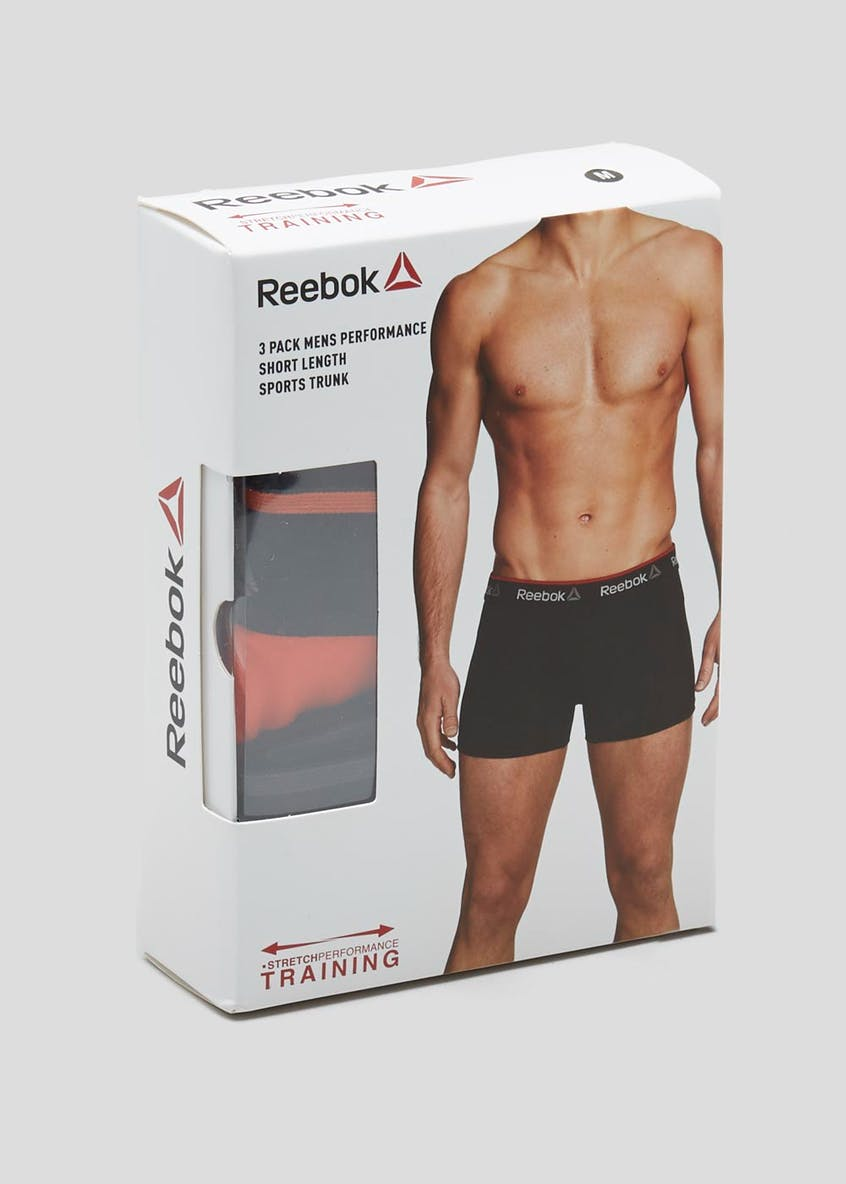 3 Pack Reebok Performance Trunks