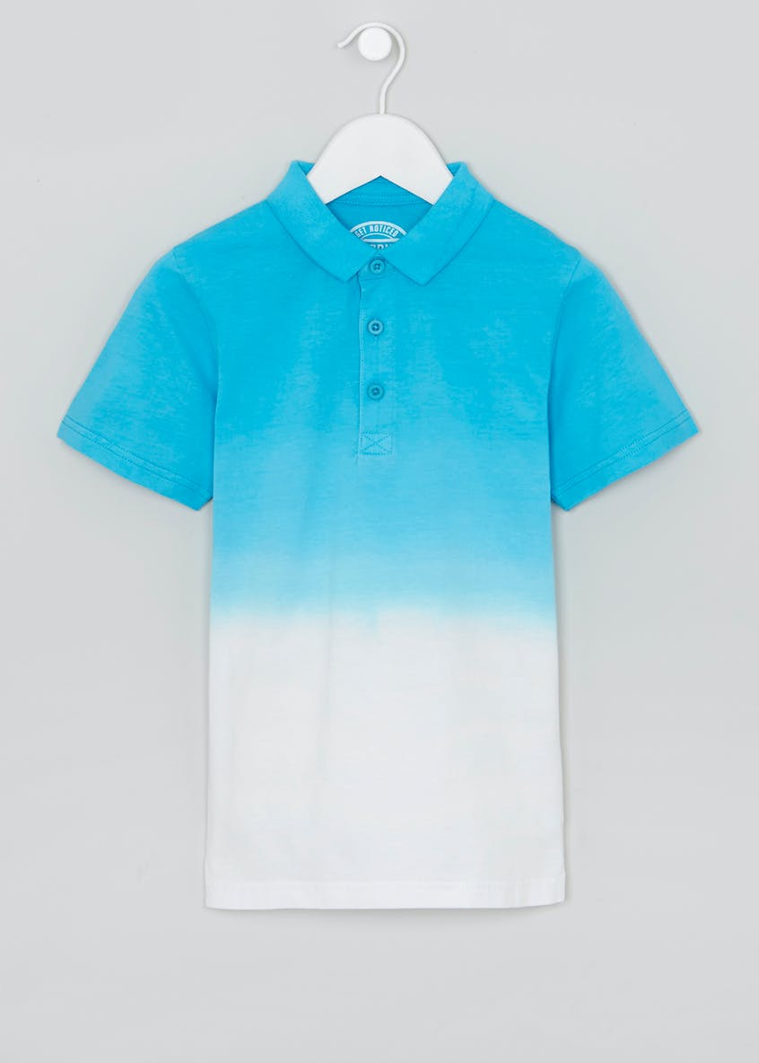 Boys Ombre Polo Shirt (4-13yrs)