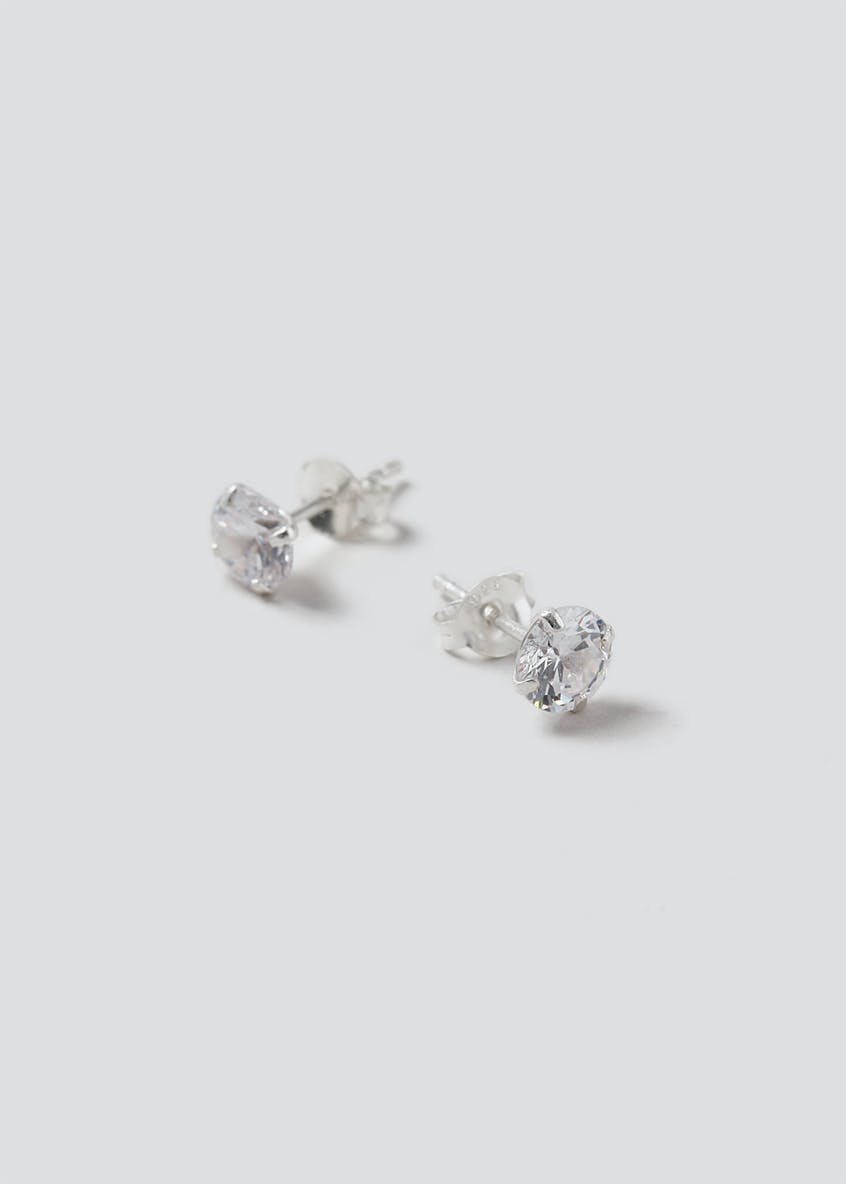 Sterling Silver 925 Crystal Studs