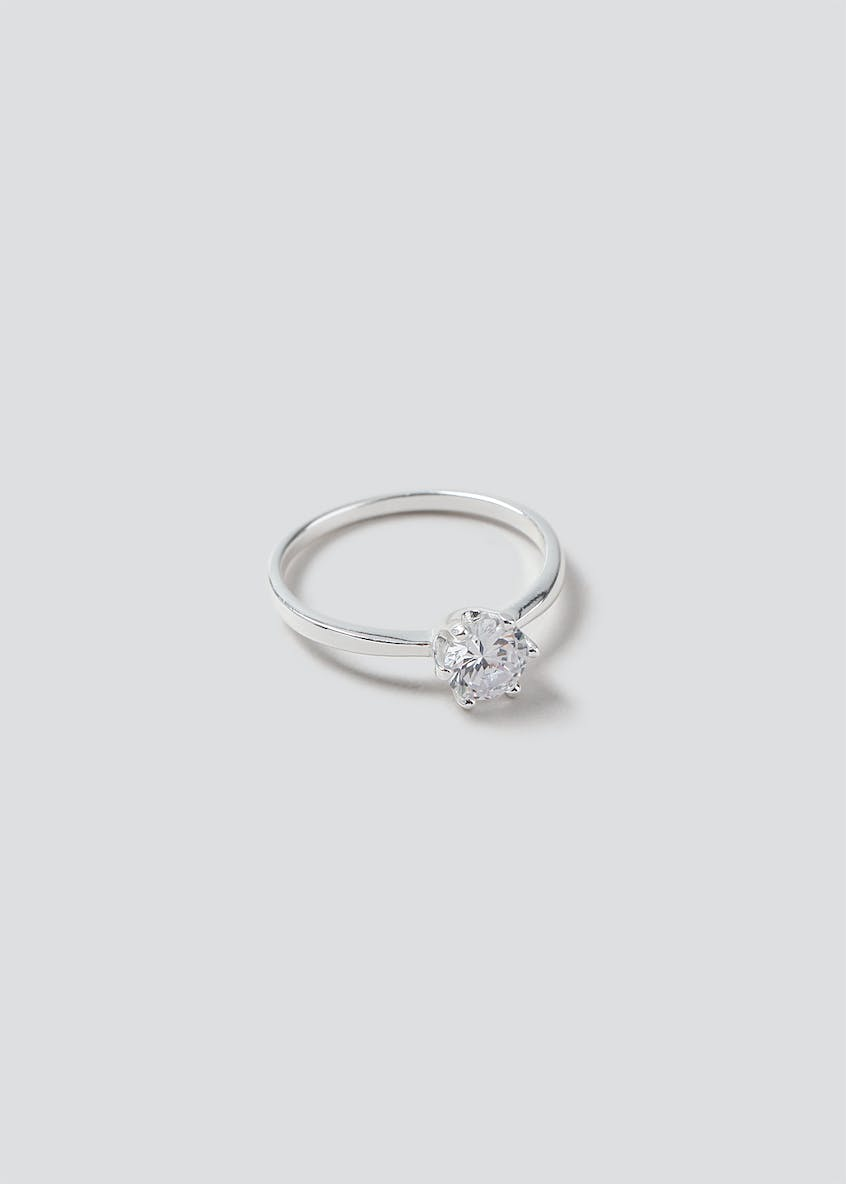Sterling Silver 925 Cubic Zirconia Ring