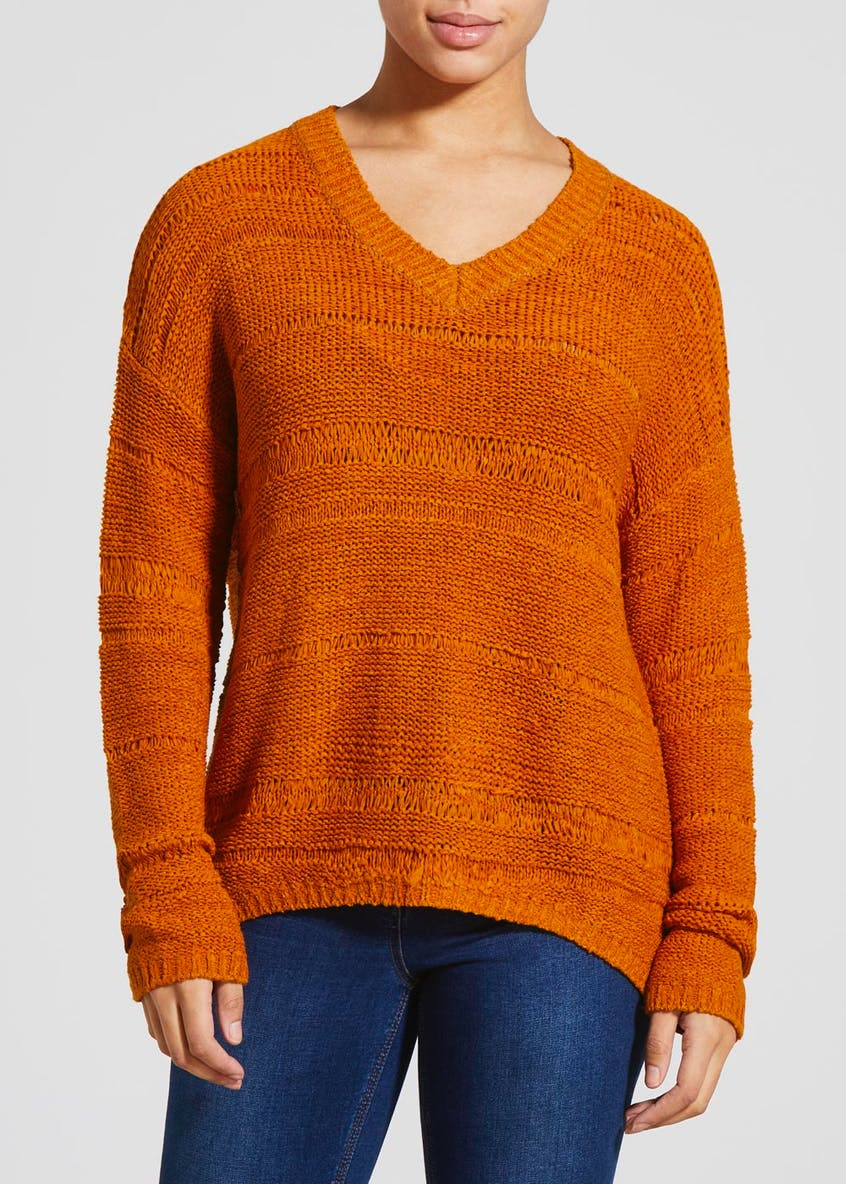 Slouch Tape Knit Jumper