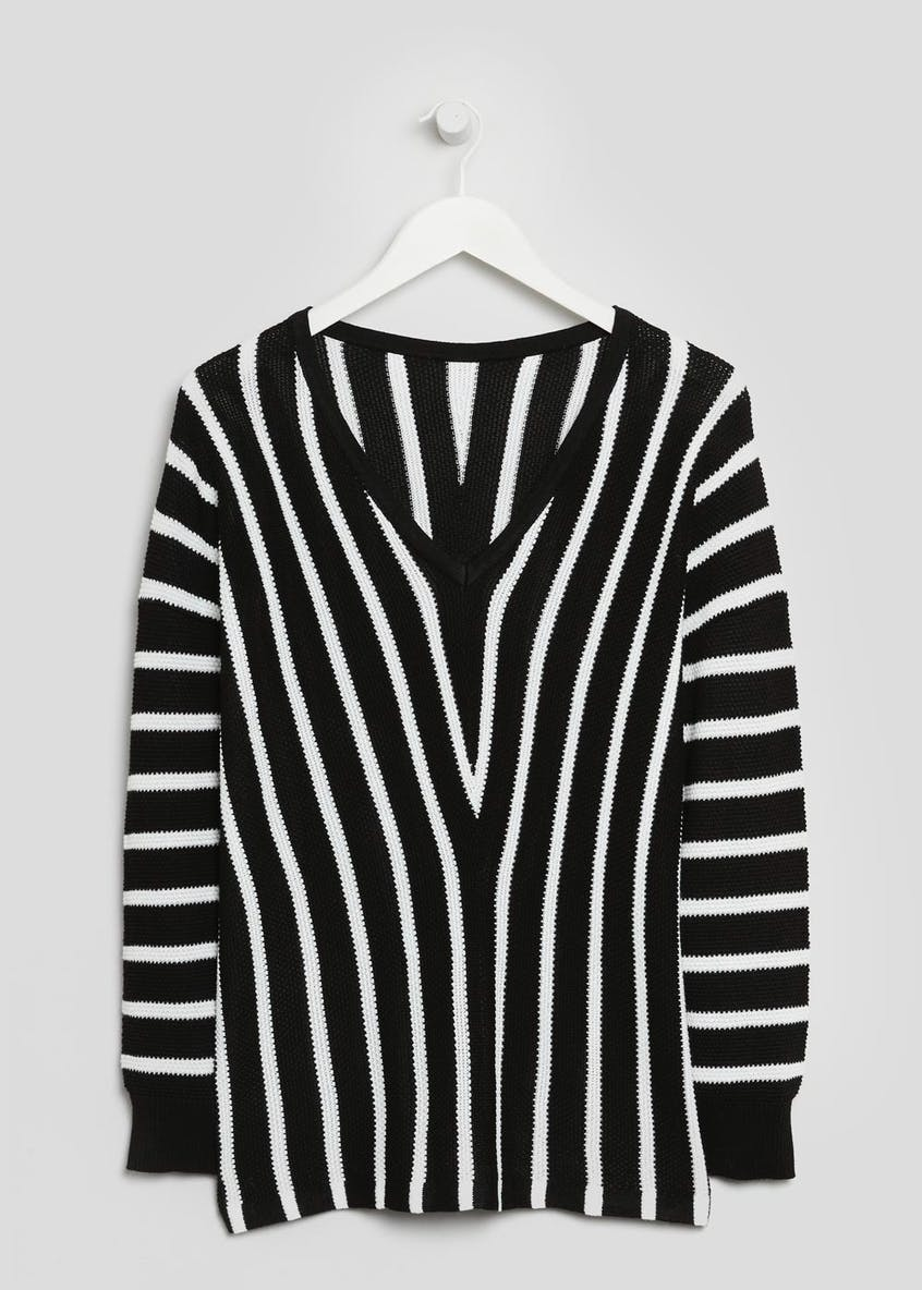 Vertical Stripe Jumper