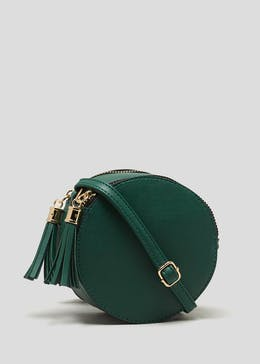 4a2bdab7ac42 Tassel Round Cross-Body Bag