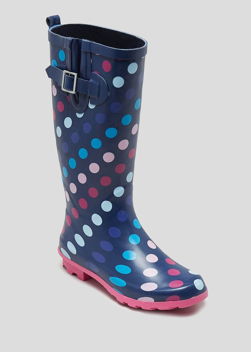 Polka Dot Rubber Wellies