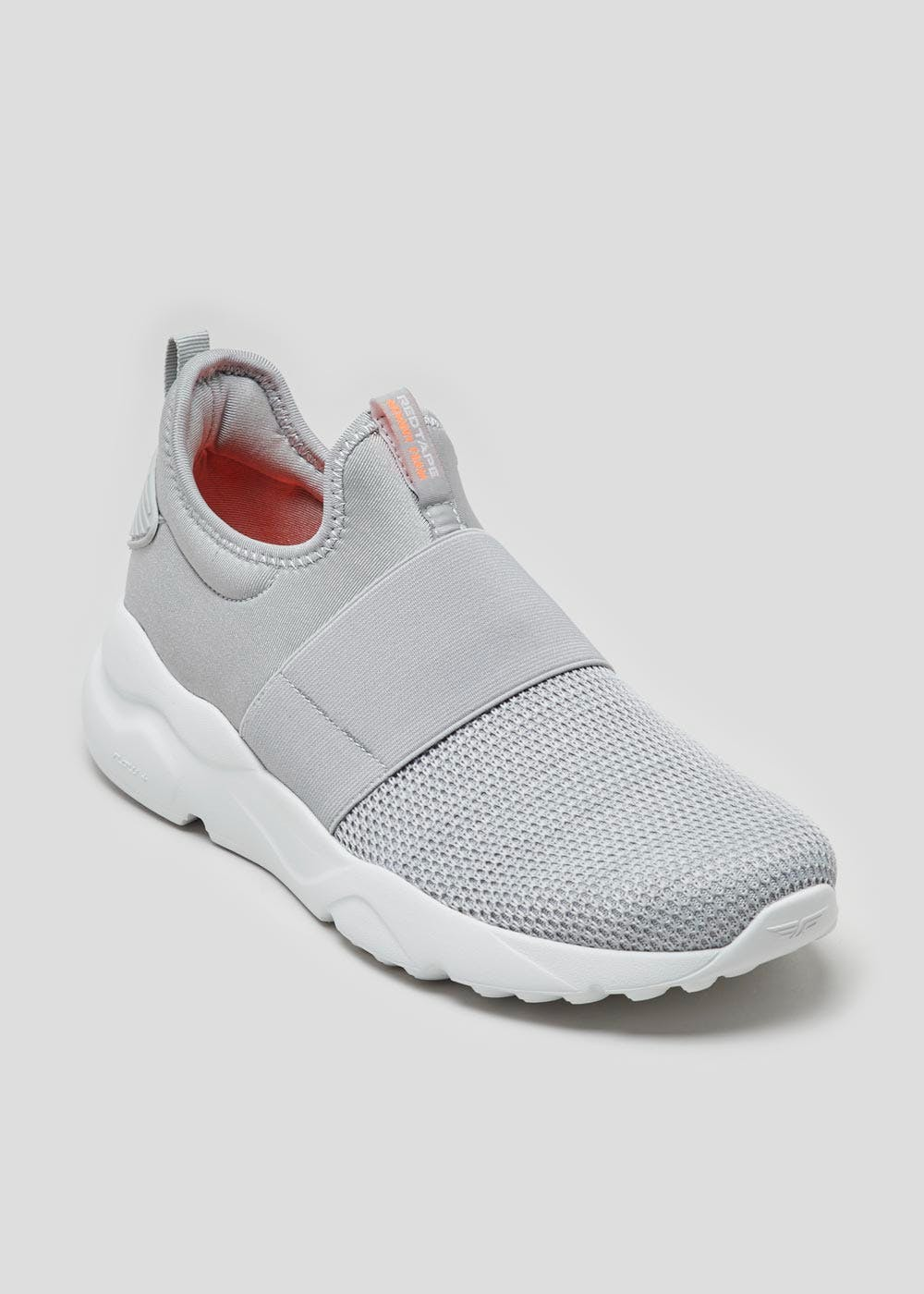 Red Tape Slip On Trainers – Grey – Matalan
