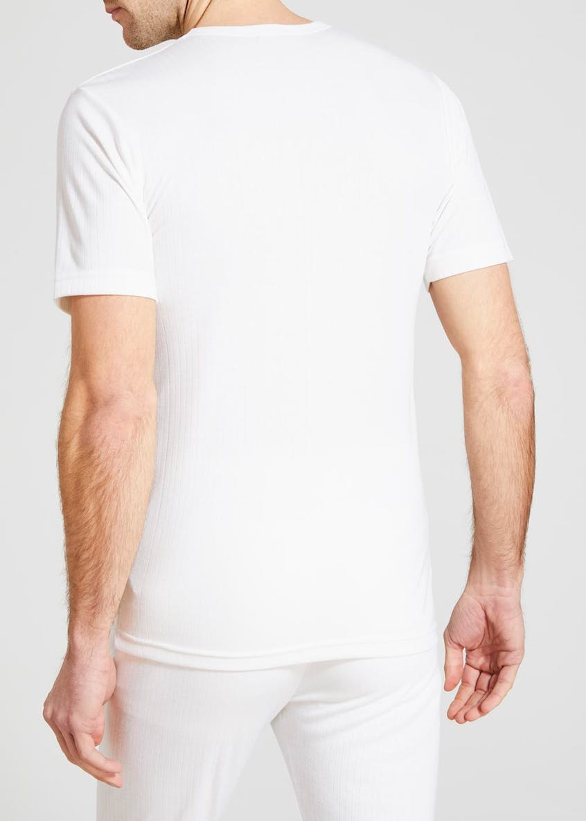 2 Pack Wolsey Short Sleeve Thermal T-Shirts