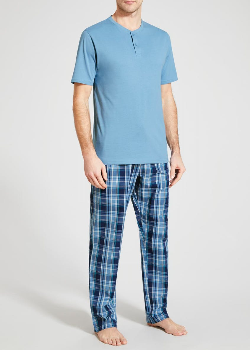 Grandad Neck Pyjama Set
