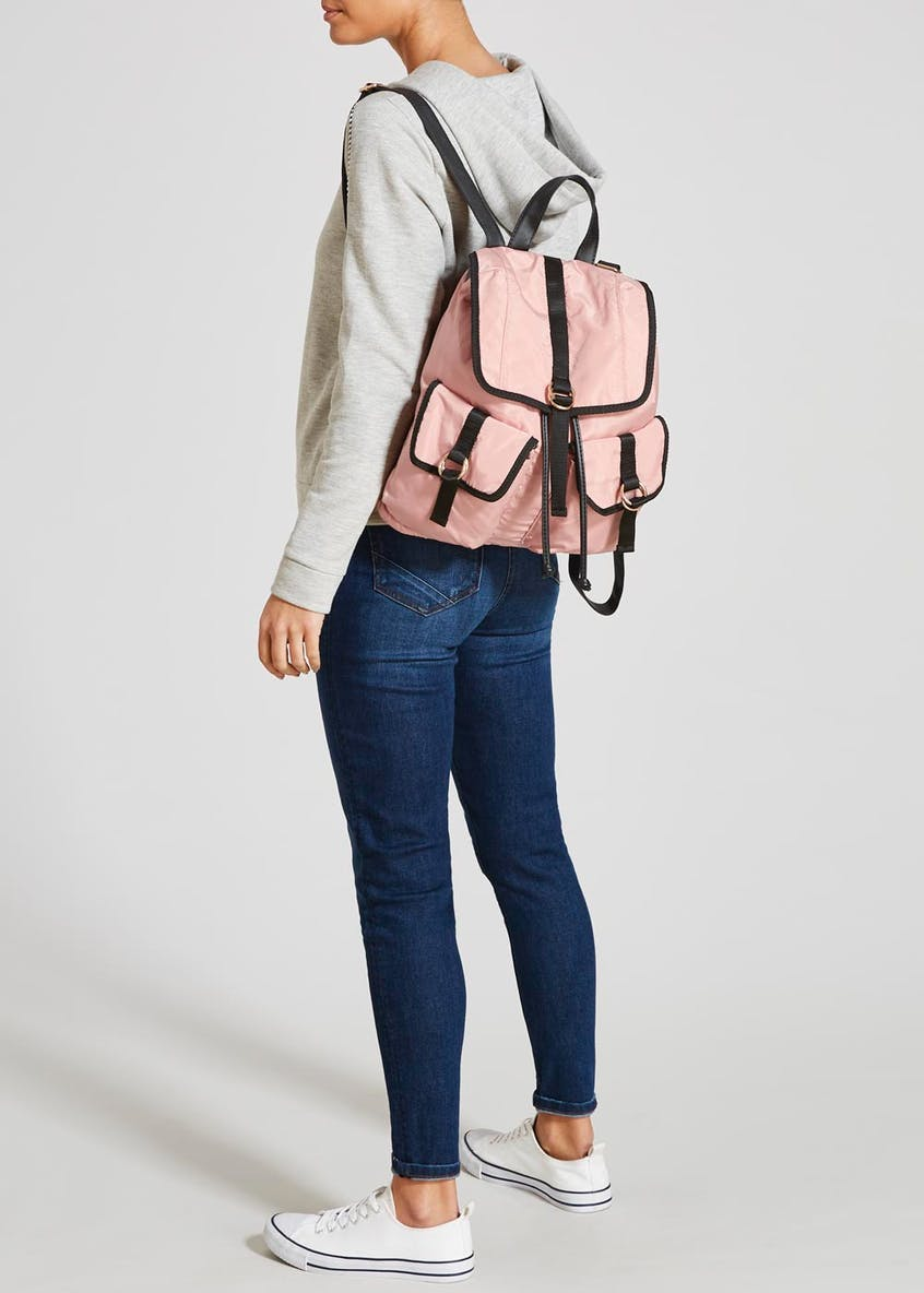 Nylon Buckle Backpack