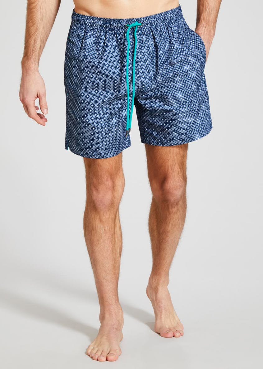 Geometric Swim Shorts