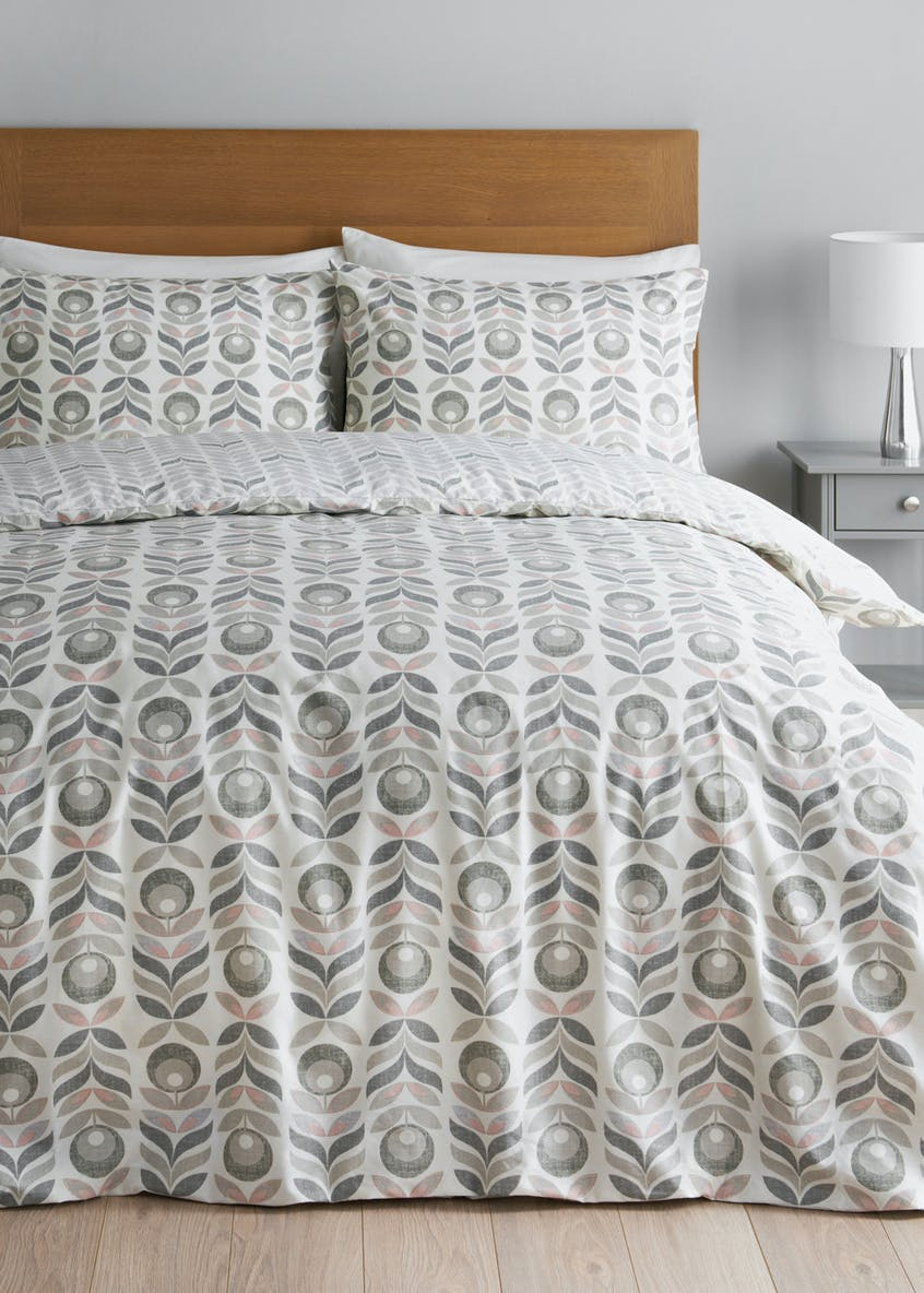2 Pack Printed Reversible Duvet Covers