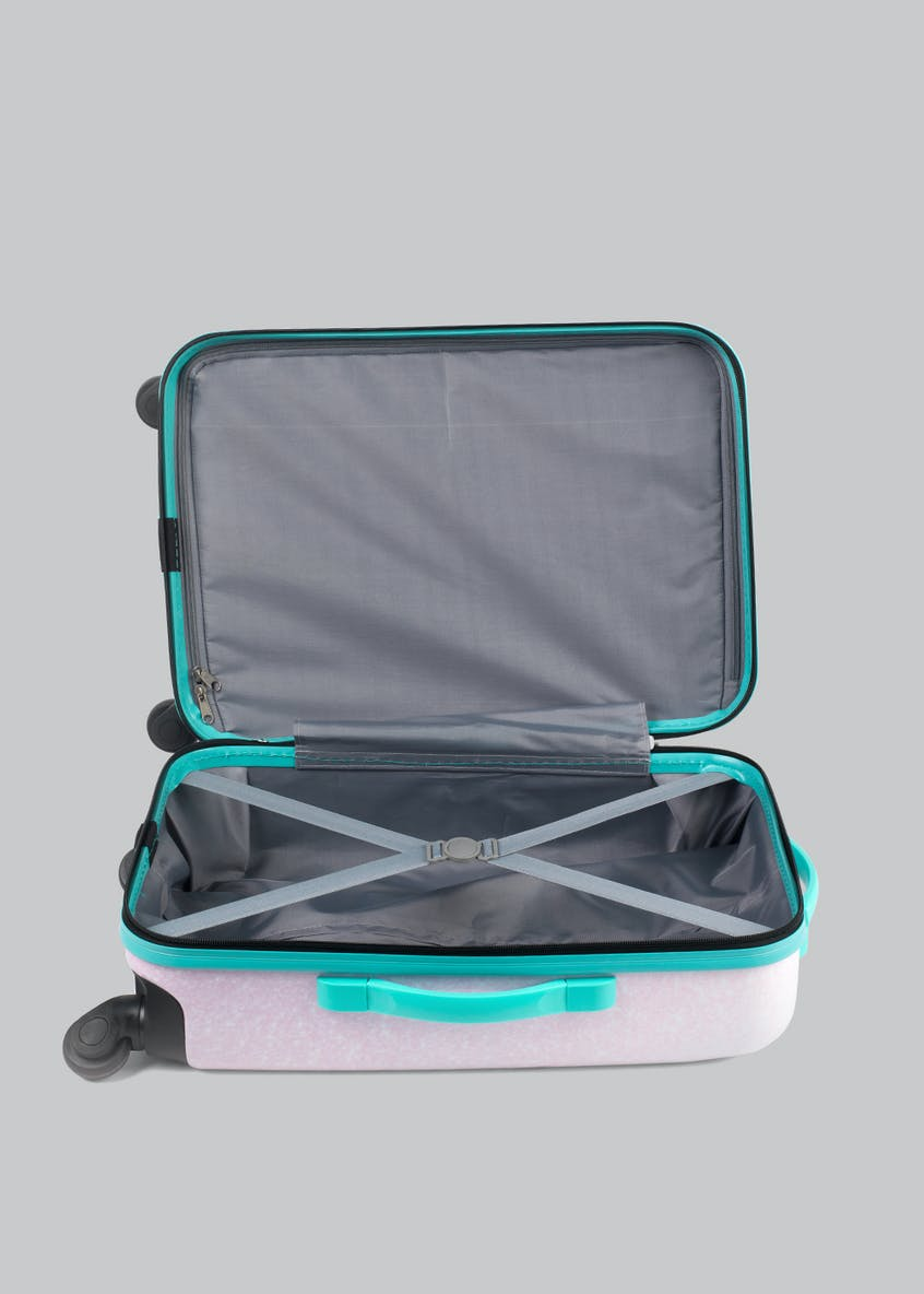 Constellation Mermaid Slogan Personalisation Suitcase