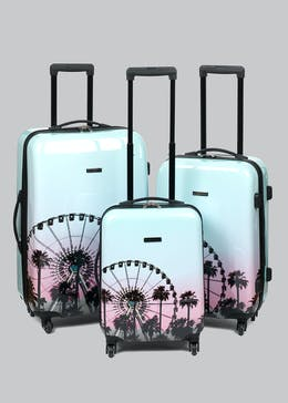 Constellation Festival Sunset Suitcase
