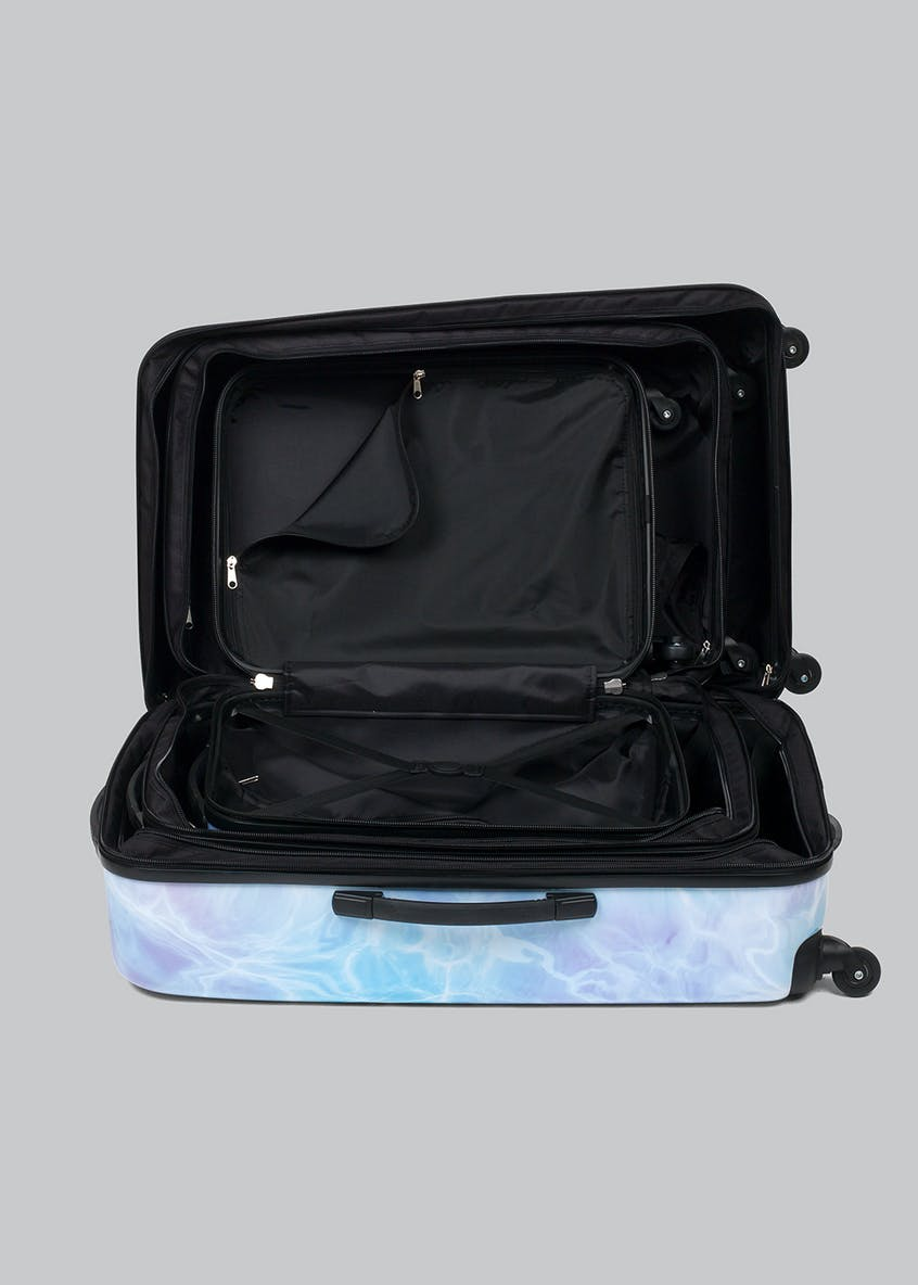 Constellation Water Print Suitcase