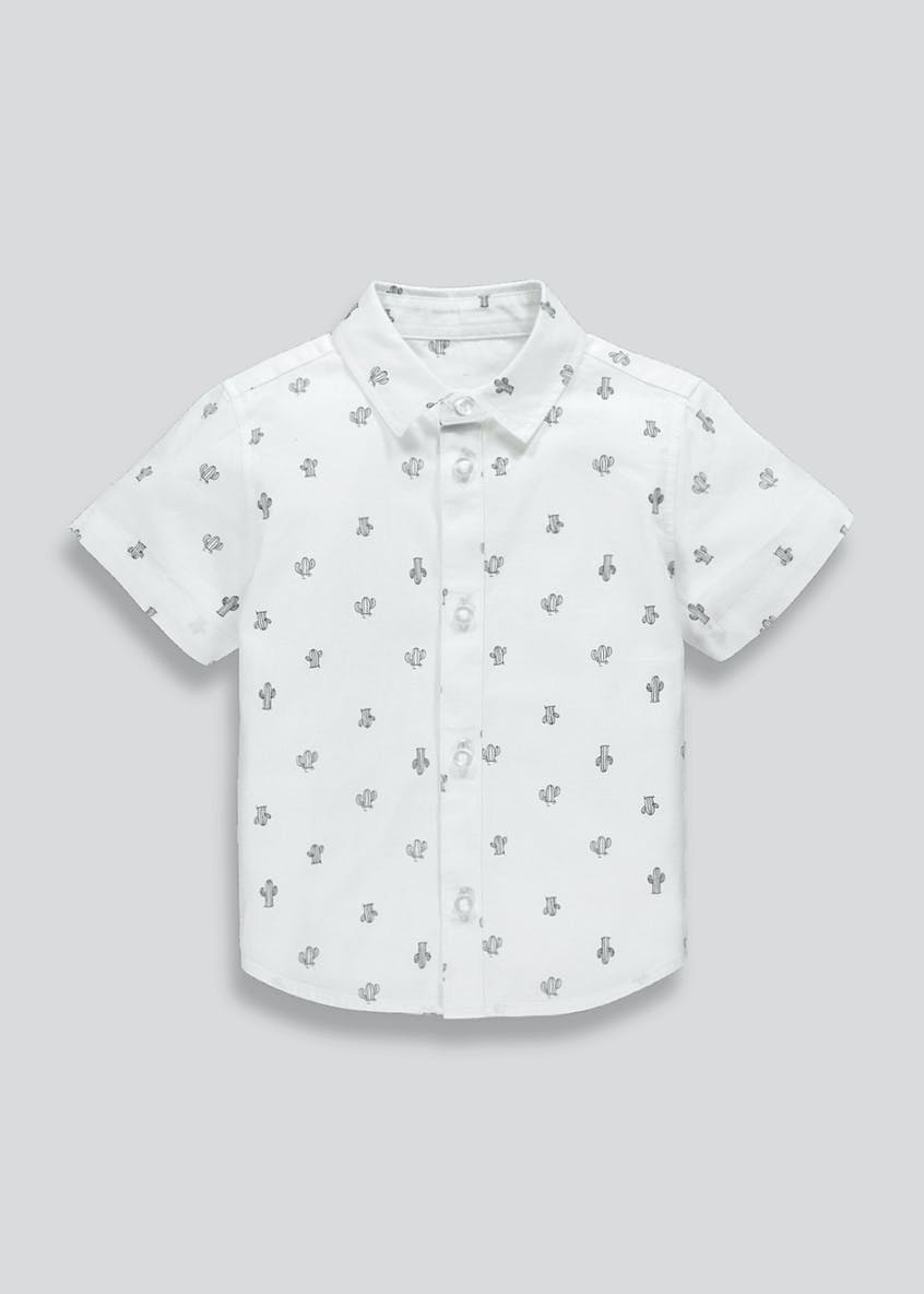 Boys Cactus Print Shirt (9mths-6yrs)