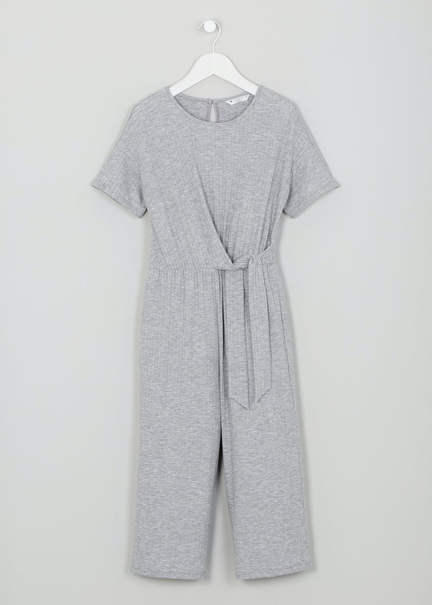 Girls Candy Couture Ribbed Culotte Jumpsuit (9-16yrs)