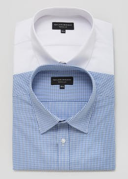 2 Pack Regular Fit Short Sleeve Shirts