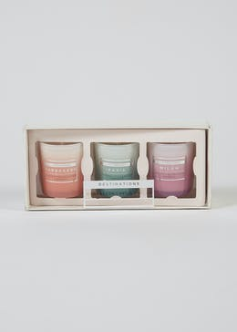 Destinations Fragranced Candle Set