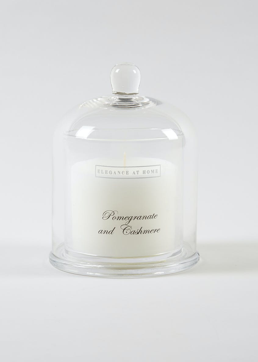 Pomegranate & Cashmere Scented Candle