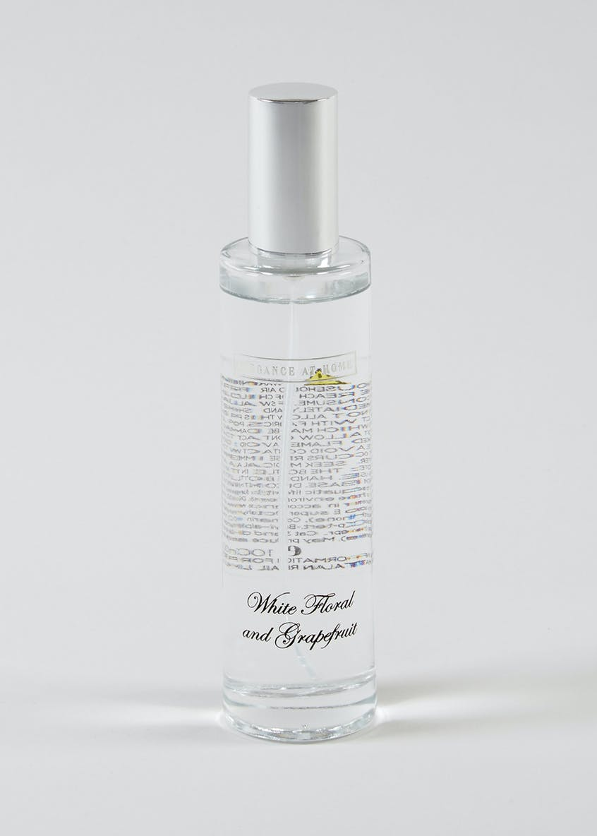 White Floral & Grapefruit Room Spray