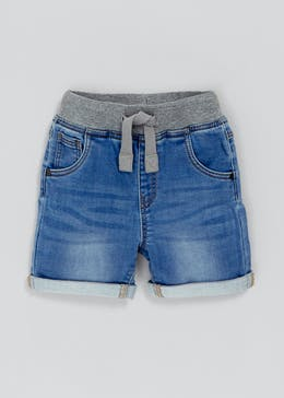 Boys Knitted Denim Shorts (3mths-6yrs)