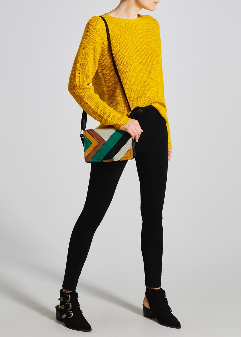 Colour Block Handbag