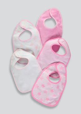 5 Pack Bibs (One Size)