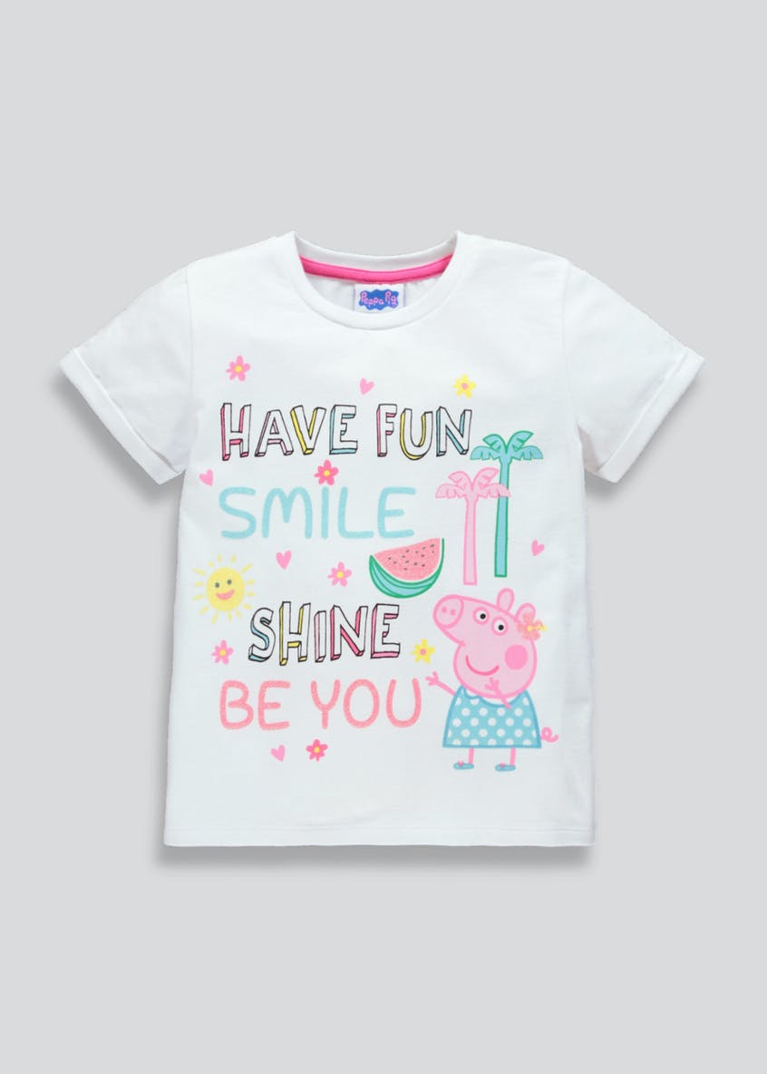 Girls Peppa Pig T-Shirt (12mths-5yrs)