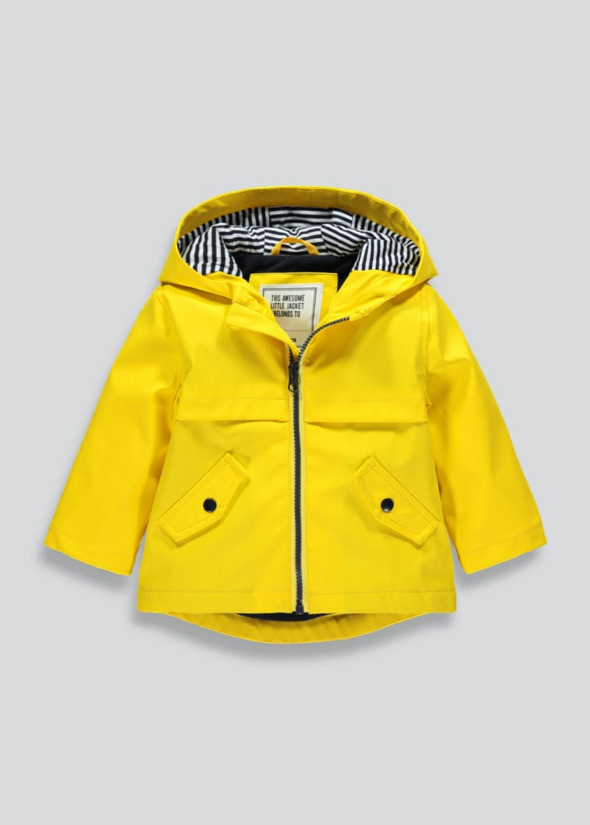 Kids Hooded Rain Mac (9mths-6yrs)