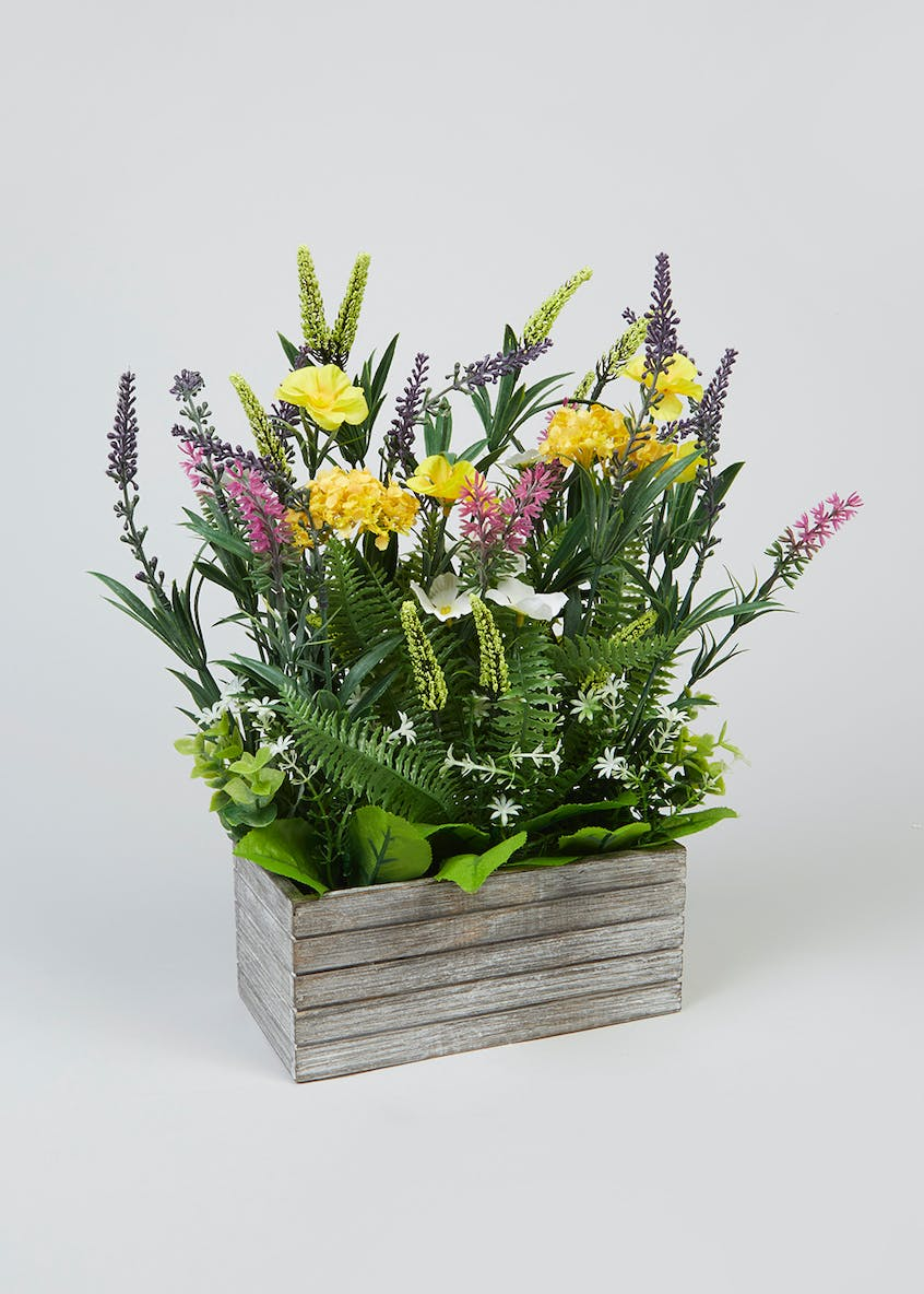 Flowers in Box (35cm x 20cm x 11cm)
