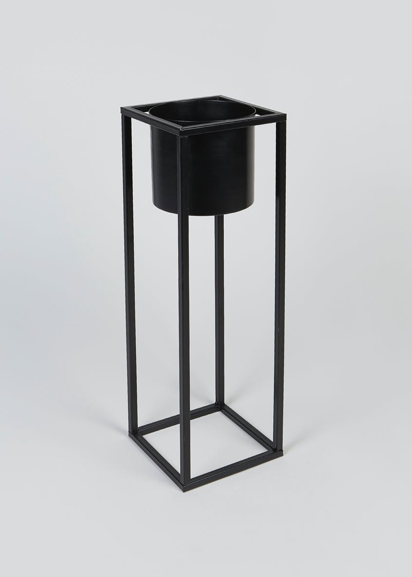 Tall Metal Planter (50cm x 15cm x 15cm)