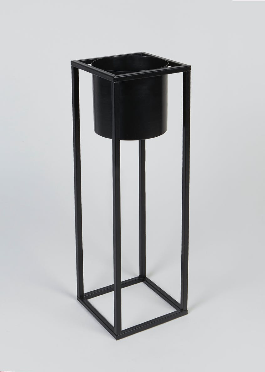 Tall Metal Planter (70cm x 15cm x 15cm)