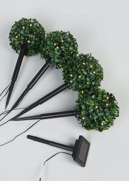 Outdoor Solar Topiary Stake Lights