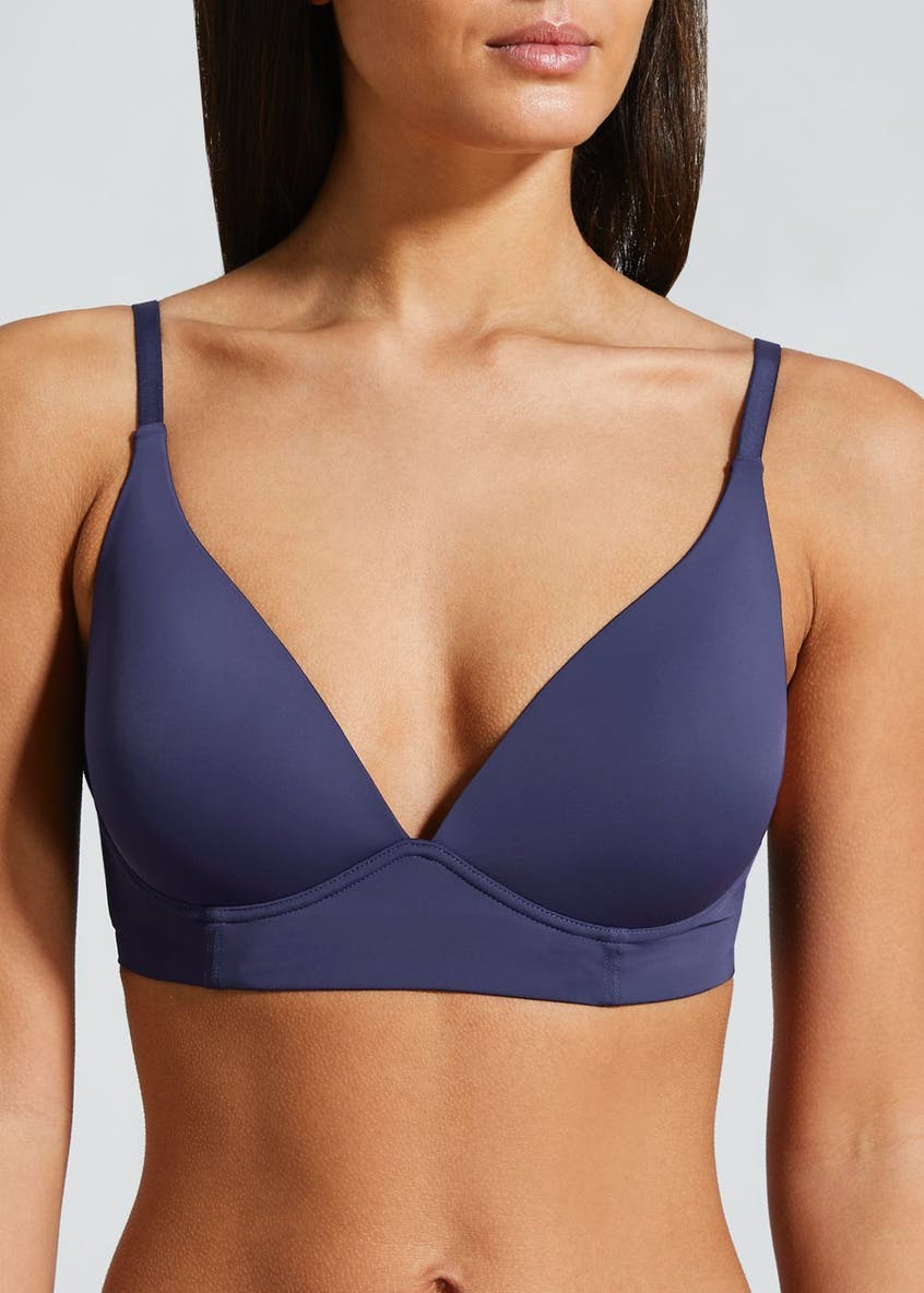 Cradle Plunge Neck Non-Wired Bra