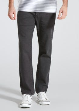 Stretch Slim Twill Trousers