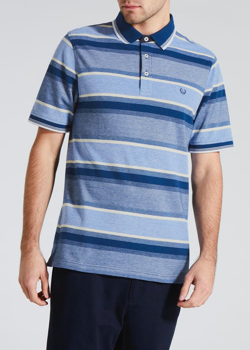 Lincoln Stripe Oxford Polo Shirt