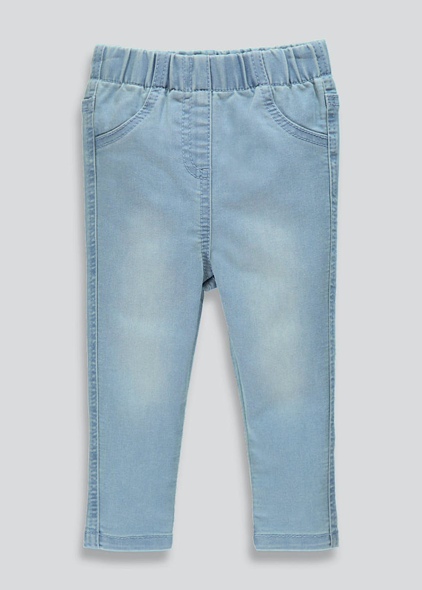 Girls Light Wash Jeggings (9mths-6yrs)
