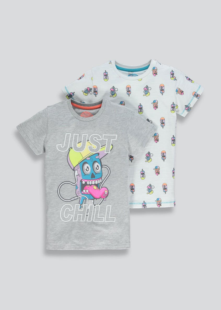 Kids 2 Pack Lolly T-Shirts (4-13yrs)